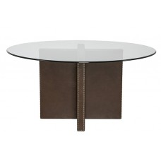 V117-T Yates Upholstered Dining Table Base